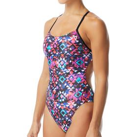 TYR Meso Cutoutfit Strój kąpielowy Kobiety, black/multi